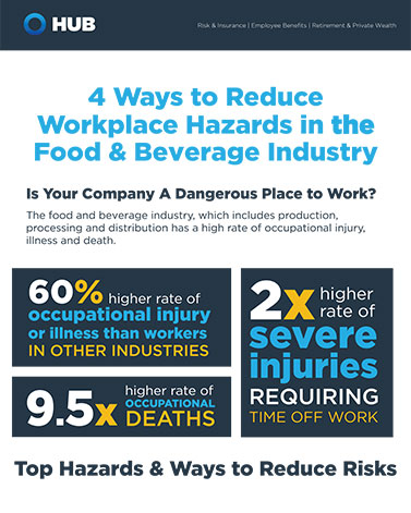 4 Ways To Reduce Workplace Hazards In Food Processing