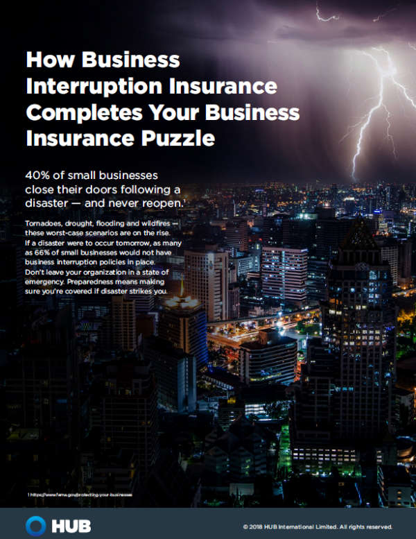Cover Image Business Interruption Guide