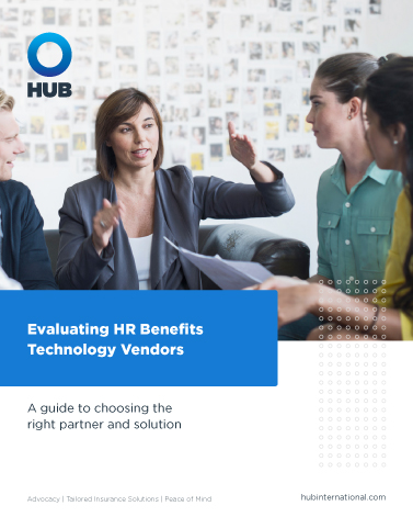 Cover Image Evaluating HR Benefits Technology Vendors