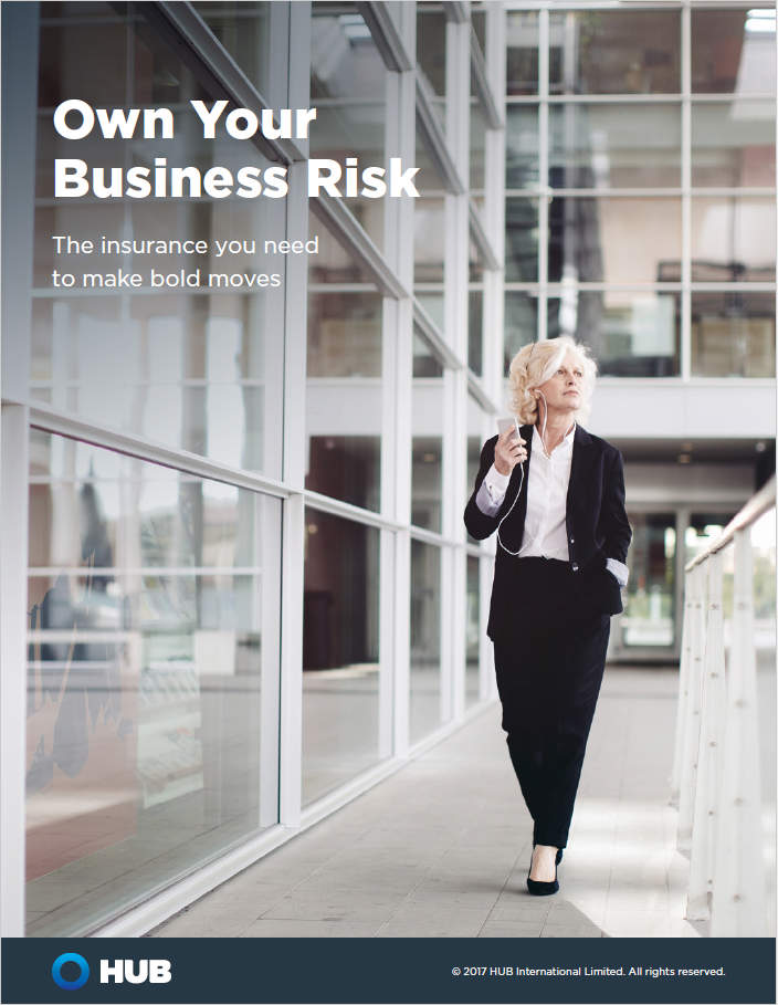 Cover Image Own Your Business Risk