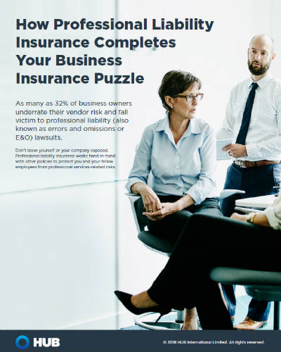 Cover Image Professional Liability Insurance