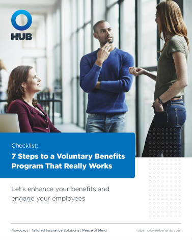 Cover Image Voluntary Benefits Checklist eBook