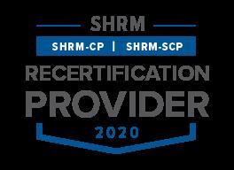 SHRM Recertification Provider Logo 2020
