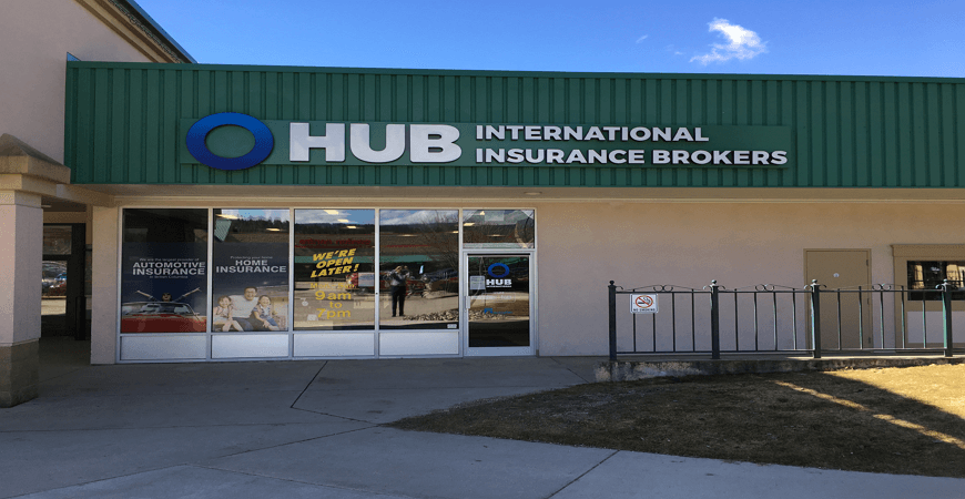 HUB Salmon Arm 10th Ave Insurance Office