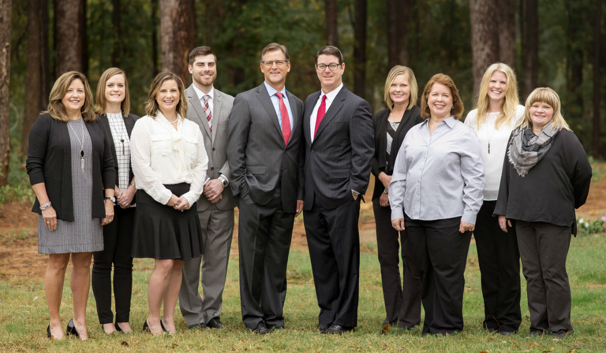 Longview and Tyler Texas Office Group Photo